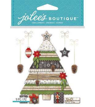 Holiday Tree And Gifts
