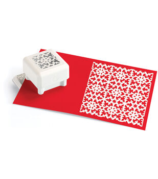 Martha Stewart Crafts All Over The Page Punch Snowflake Star