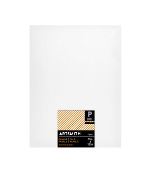 9x12 Canvas Panels 3 Pack