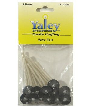 Yaley 2'' Candle Wired Wicks-12PK/15mm