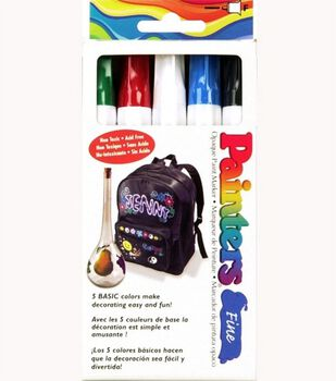 Painters Fine Bright Markers-5 pack