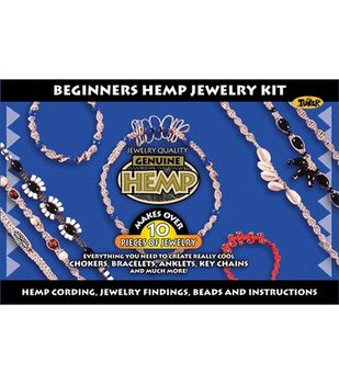 Beginners Hemp Jewelry Kit
