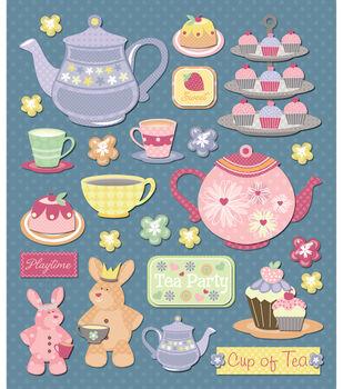 Sticker Medley-Tea Party