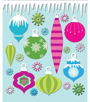 Sticker Medley-Ornaments