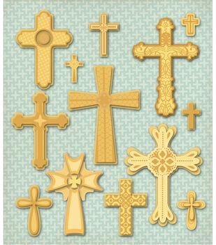 K & Company Stickers-Crosses
