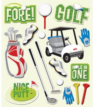 K & Company Stickers-Golf