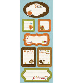 Imaginisce Apple Cider Sticker Stackers-Give Thanks