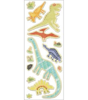 Imaginisce-Denim Sticker-Dino Roar