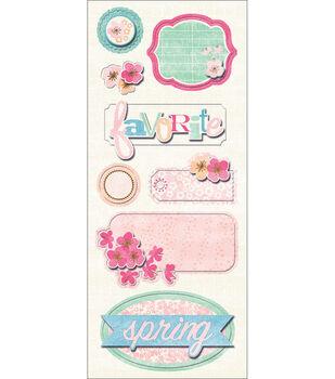 Imaginisce Garden Party Sticker Stacker-Johnny Jump-Ups