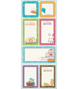 "Sticker Stackers 4.75""X12""-Bloom & Grow"