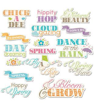 Hippity Hop Die-Cuts-Cloud Gazing Word