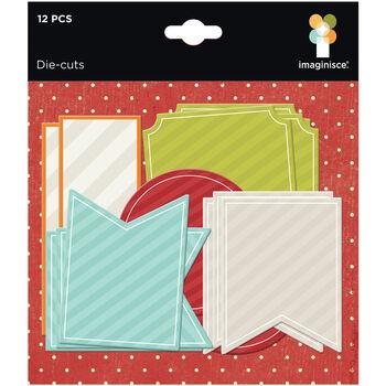 Imaginisce Bushels O' Fall Cardstock Die-Cuts Journaling