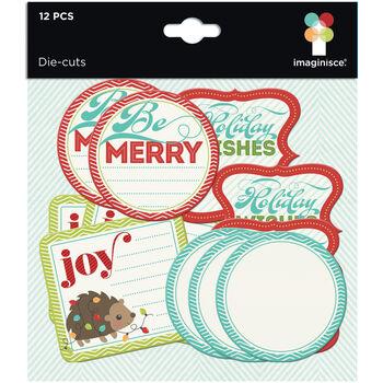 Imaginisce Colors Of Christmas Cardstock Die-Cuts Journaling