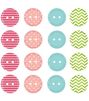 Welcome Spring Buttons 20/Pkg-Spring