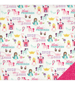 """Little Princess Double-Sided Cardstock 12""""X12""""-Happily Ever After"""