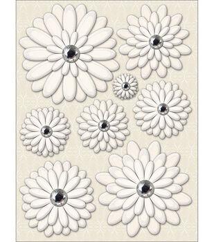 K & Company Elegance Grand Adhesions-Daisies