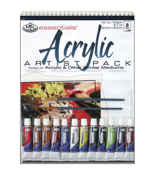Royal Brush Essentials Artist Pack-Acrylic