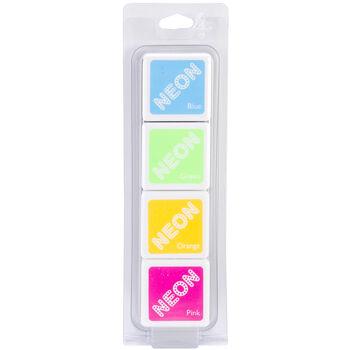 Hero Arts Dye Inks 4 Color Cubes-Neon