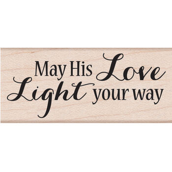 Hero Arts Mounted Rubber Stamps Light Your Way