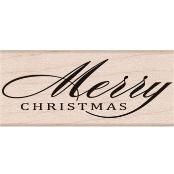 Hero Arts Mounted Rubber Stamps Fancy Merry