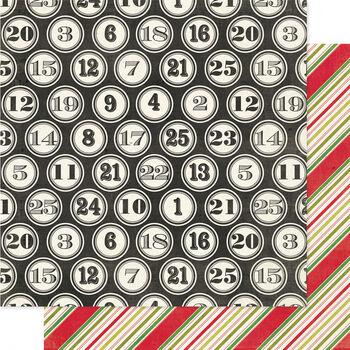 Heidi Swapp Believe Double-Sided Cardstock Paper Countdown