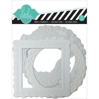 Heidi Swapp Color Magic Pressed Resist Paper Frames Embossed