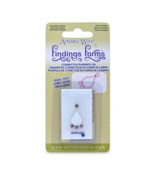 Findings Forms, Teardrop Connector Jig, 1 pc