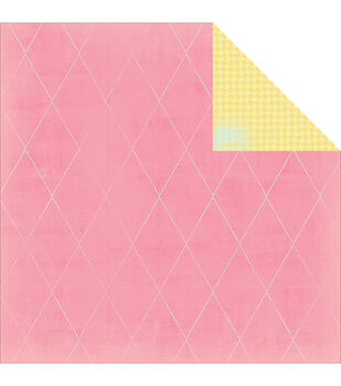 """Pink Dream - Dreamy Double-sided Paper 12""""x12"""""""