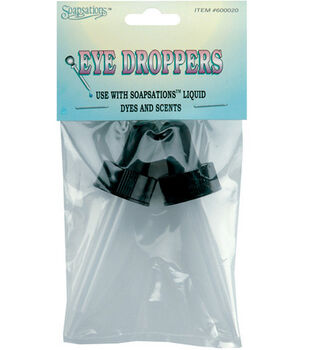 Soapsations Plastic Eye Droppers-2PK