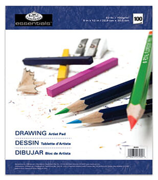 Artist Paper Pads-Drawing-100 Sheets