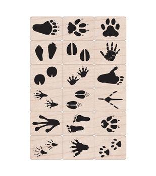 Hero Arts Ink 'N' Stamp Animal Track Set