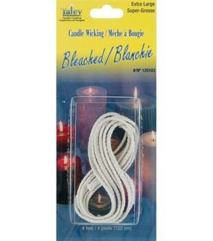 Yaley 4 ft. Bleached Candle Wicking