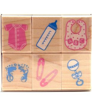 Hero Arts Rubber Stamp-Welcome New Baby