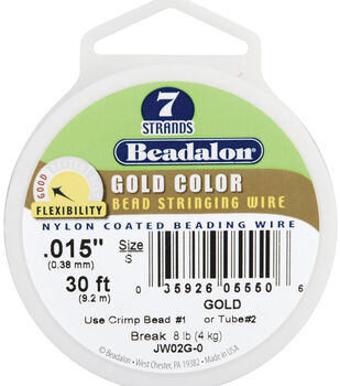 Beadalon® 7-Strand Nylon Coated Bead Stringing Wire