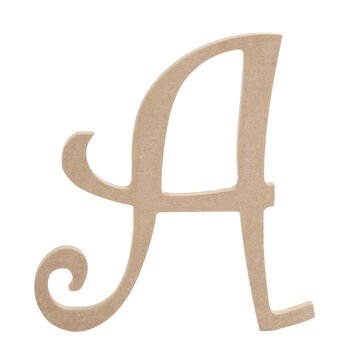 Shop for unfinished wood wood crafts products jo ann for Darice 7 fancy wood letters
