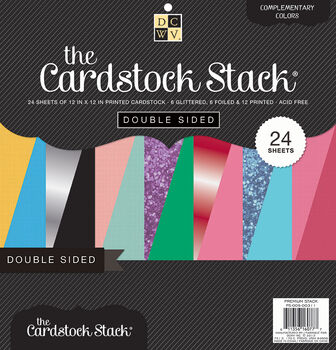 DCWV 12''x12'' Double Sided Cardstock Stack
