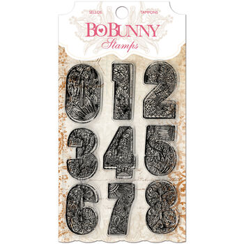 Bo Bunny Clear Stamps Countdown