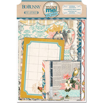 Bo Bunny The Avenues Misc Me Binder Contents Journal