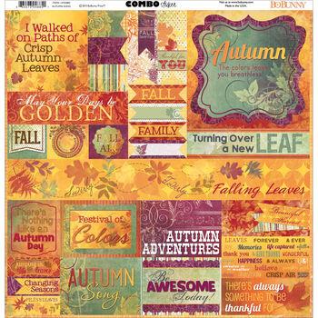 Bo Bunny Autumn Song Combo Stickers