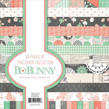 Bo Bunny Pincushion Paper Pad