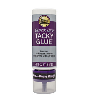 "Aleene's Always Ready Quick Dry ""Tacky"" Glue-4oz"