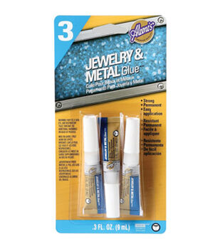 Aleene's Jewelry & Metal Glue .1oz 3/Pkg-