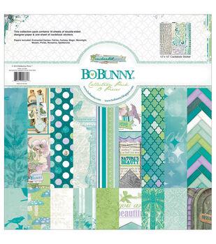 """Bo-Bunny Collection Pack 12""""X12""""-Enchanted Garden"""