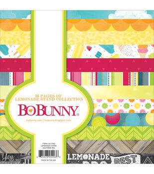 "Bo-Bunny Paper Pad 6""X6"" 36/Pkg-Lemonade Stand"