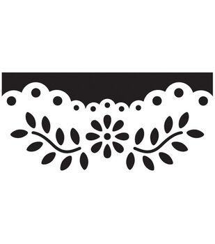 Martha Stewart Crafts Deep Edger Punch Floral Vine