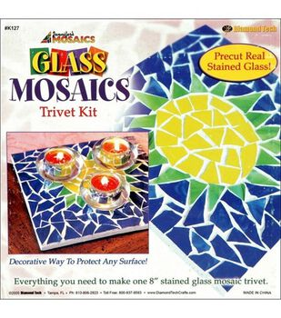 Stained Glass Mosaics Trivet Kit