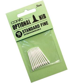 Copic Original Standard Fine Nibs 10/Pk