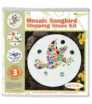 Mosaic Stepping Stone Kit-Songbird