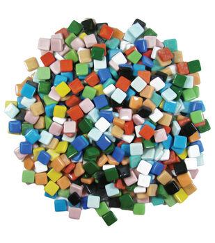"""Classico Tile Mix 3/8"""" 3lb/Pkg-Assorted Colors"""