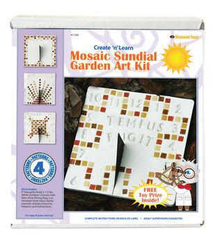 Mosaic Stepping Stone Kit-Sundial Garden
